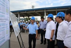 Khởi công xây dựng cảng gang thép quốc tế Nghi Sơn