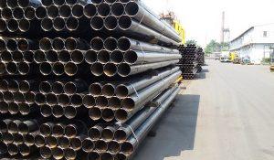 Ứng dụng của thép ống trong cấp thoát nước
